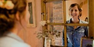 Fräulein Festlich - Braut im Spiegel