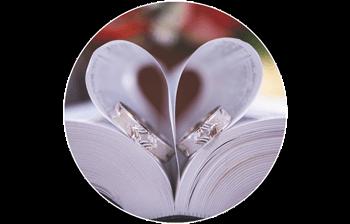 Buch mit Ringen